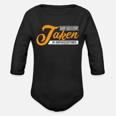 Shop Assistant Shop Assistant - Organic Long-Sleeved Baby Bodysuit