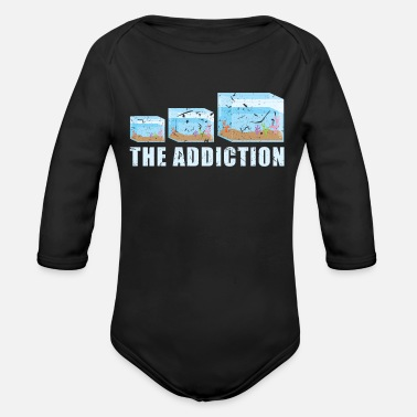 Aquarium Aquarium - Organic Long-Sleeved Baby Bodysuit