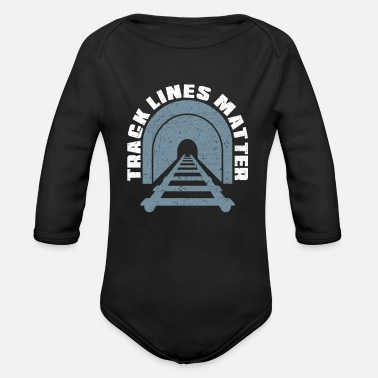 Model Railway Model Railway - Organic Long-Sleeved Baby Bodysuit