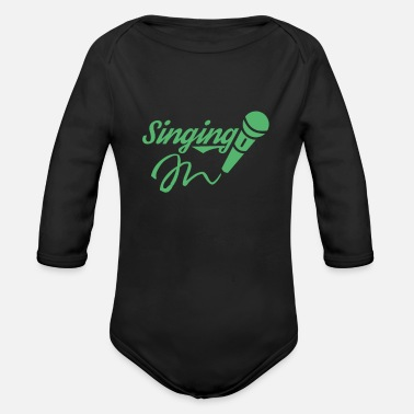 Chant Chanting - Organic Long-Sleeved Baby Bodysuit