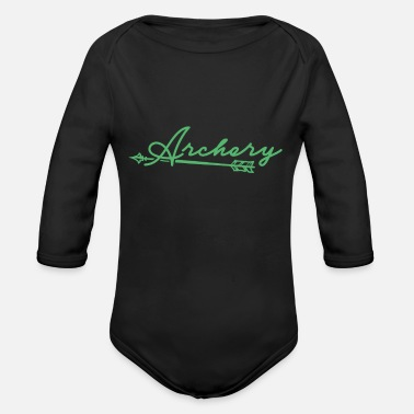 Bow Bow - Organic Long-Sleeved Baby Bodysuit