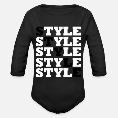 Style Style - Street Style - Organic Long-Sleeved Baby Bodysuit