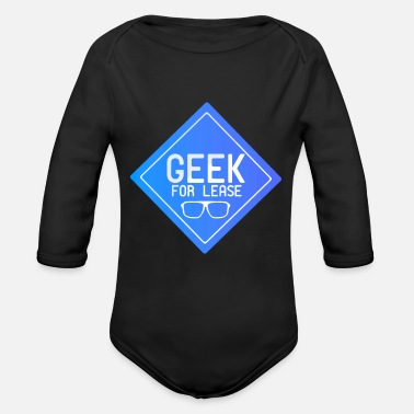 Leasing Geek for Lease - Organic Long-Sleeved Baby Bodysuit