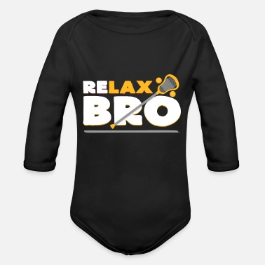 Lax Lax - Organic Long-Sleeved Baby Bodysuit
