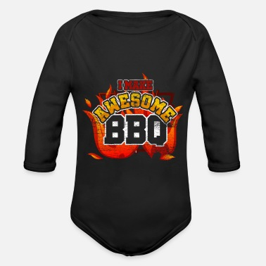Gourmet Barbecue Gourmet - Organic Long-Sleeved Baby Bodysuit
