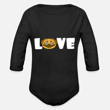Dog Owner dog owners - Organic Long-Sleeved Baby Bodysuit