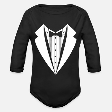 Suit suit - Organic Long-Sleeved Baby Bodysuit