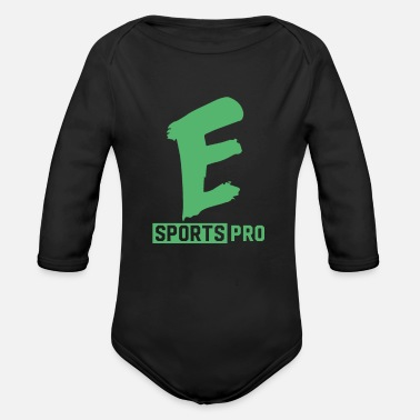 Pc PC Game - Organic Long-Sleeved Baby Bodysuit
