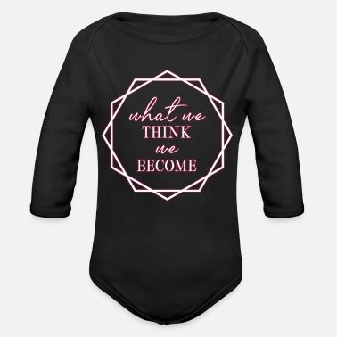 Wisdom Wisdom - Organic Long-Sleeved Baby Bodysuit
