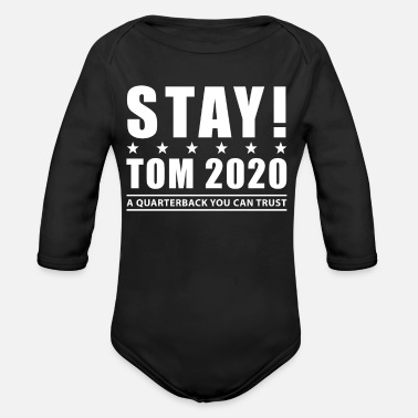 Tomine Stay Tom 2020 Shirt - Organic Long-Sleeved Baby Bodysuit