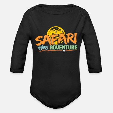 Safari Safari - Organic Long-Sleeved Baby Bodysuit
