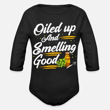 Oil Essential Oils - Organic Long-Sleeved Baby Bodysuit