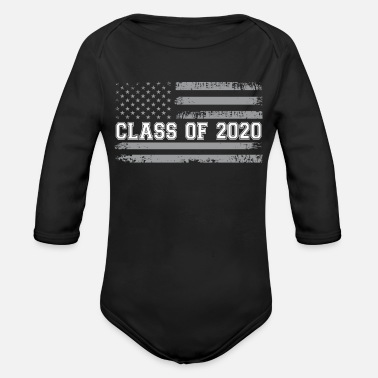 Party Vintage Class of 2020 - Organic Long-Sleeved Baby Bodysuit