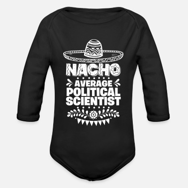Sombrero Nacho Average Podiatrist Fun Gift Cinco De Mayo - Organic Long-Sleeved Baby Bodysuit