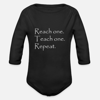 Rotors Rotor - Organic Long-Sleeved Baby Bodysuit