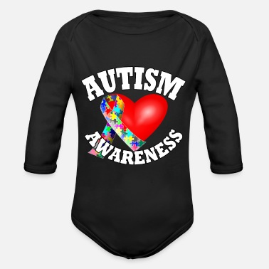 Autism Awareness Day Autism Awareness, Autism, Awareness - Organic Long-Sleeved Baby Bodysuit