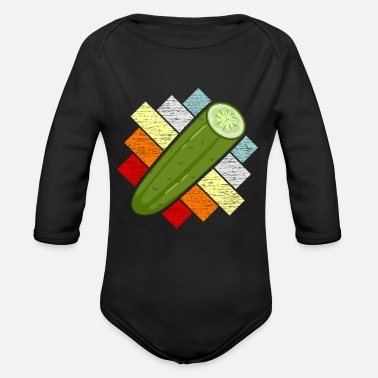 Cucumber Cucumber - Organic Long-Sleeved Baby Bodysuit