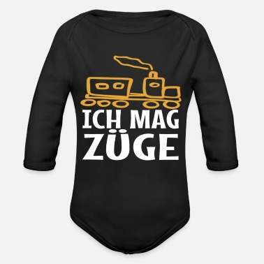 Train Driver Trains Train Engine Driver Train Driver - Organic Long-Sleeved Baby Bodysuit
