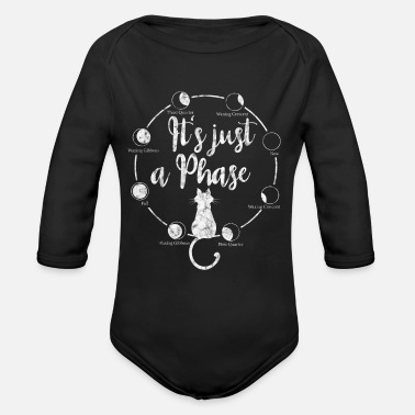 Terminology It's Just A Phase, Astronomical Terminology Lunar - Organic Long-Sleeved Baby Bodysuit