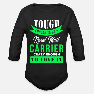 Rural Rural Carriers - Organic Long-Sleeved Baby Bodysuit