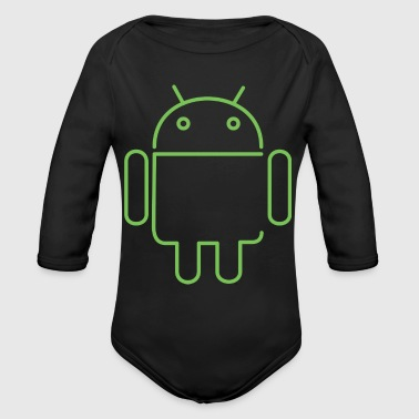 Android Android - Organic Long Sleeve Baby Bodysuit