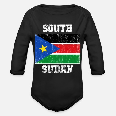 South South Sudan - Organic Long-Sleeved Baby Bodysuit