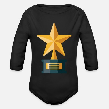 Award Awards Trophy - Organic Long-Sleeved Baby Bodysuit