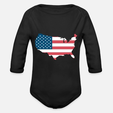 United States United States - Organic Long-Sleeved Baby Bodysuit