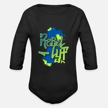 Graffiti Graffiti - Organic Long-Sleeved Baby Bodysuit