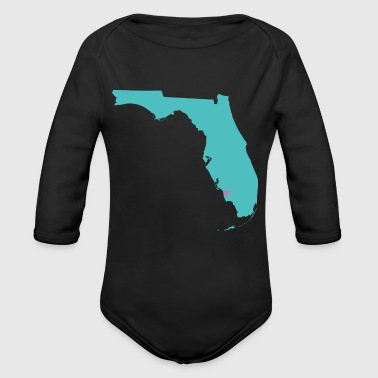 state naples - Organic Long Sleeve Baby Bodysuit