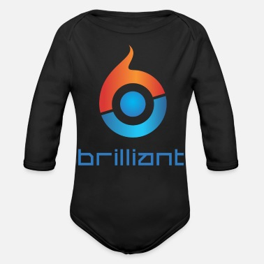 Brilliant Brilliant - Organic Long-Sleeved Baby Bodysuit