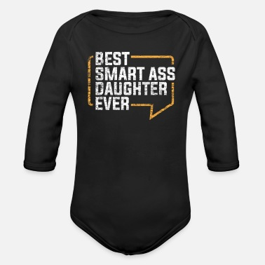 Daughter Daughter - Organic Long-Sleeved Baby Bodysuit