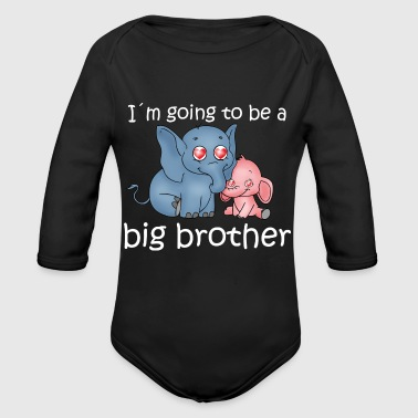 Big Brother - Organic Long Sleeve Baby Bodysuit