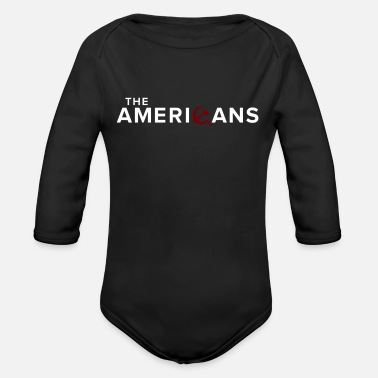 The Americans - Organic Long-Sleeved Baby Bodysuit