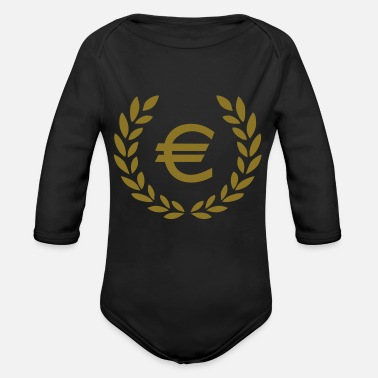 Euro Euro - Organic Long-Sleeved Baby Bodysuit