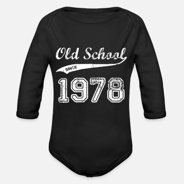1978 1978 - Organic Long Sleeve Baby Bodysuit