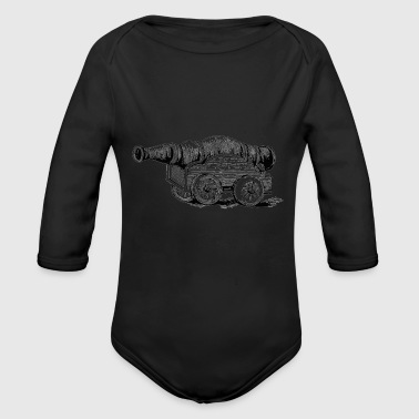 The Cannon - Organic Long Sleeve Baby Bodysuit
