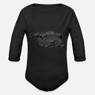 Cannon The Cannon - Organic Long Sleeve Baby Bodysuit