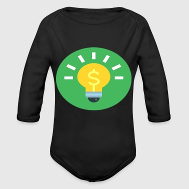 IDEA - Organic Long Sleeve Baby Bodysuit