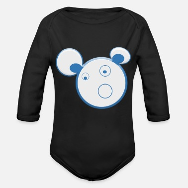 Fun FUN - Organic Long-Sleeved Baby Bodysuit
