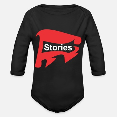Story Stories - Organic Long Sleeve Baby Bodysuit