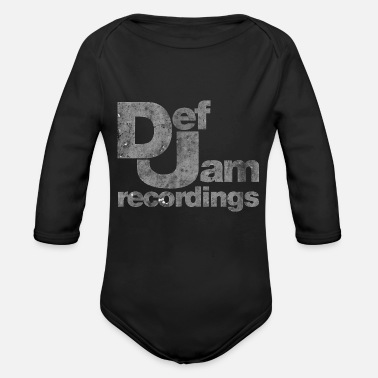 Record Recordings - Organic Long Sleeve Baby Bodysuit