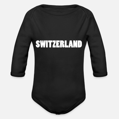 Switzerland Switzerland Zurich Switzerland - Organic Long-Sleeved Baby Bodysuit