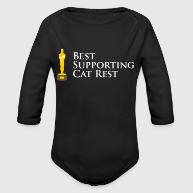 A Purrfect Performance - Organic Long Sleeve Baby Bodysuit