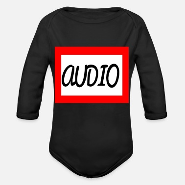 Audio AUDIO - Organic Long Sleeve Baby Bodysuit