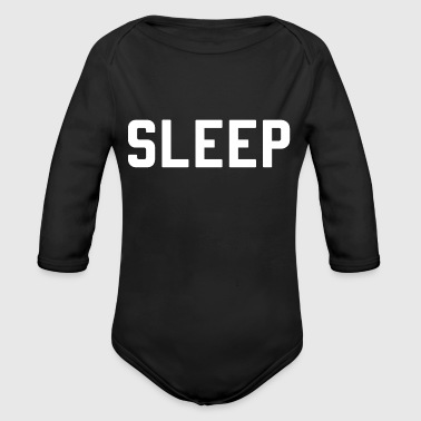 Sleep - Organic Long Sleeve Baby Bodysuit