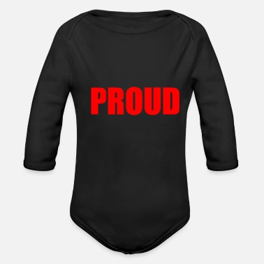 Proud PROUD - Organic Long Sleeve Baby Bodysuit