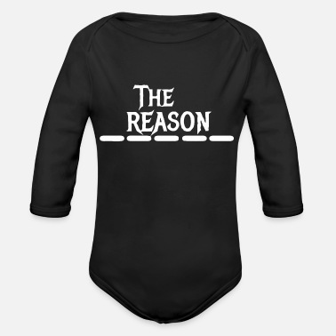 Reason The reason - Organic Long-Sleeved Baby Bodysuit