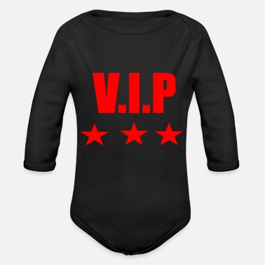 Vip VIP - Organic Long-Sleeved Baby Bodysuit