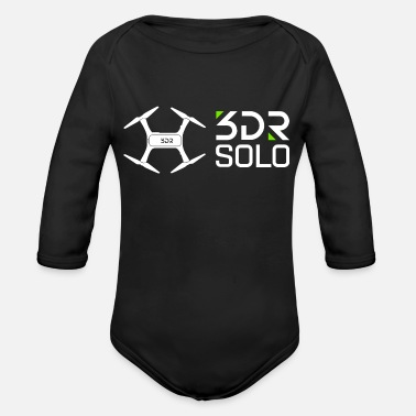 3dr 3DR SOLO Drone - Organic Long-Sleeved Baby Bodysuit